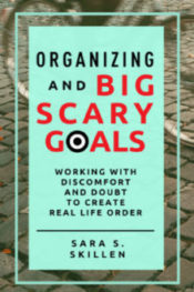 Organizing and Big Scary Goals Sara Skillen